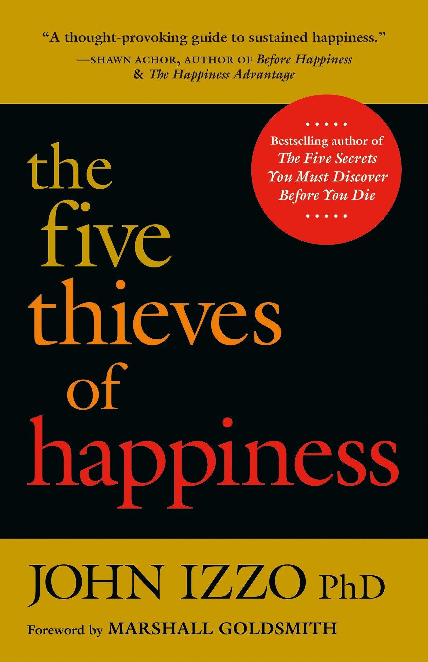 Five Thieves of Happiness, John Izzo: Book summary